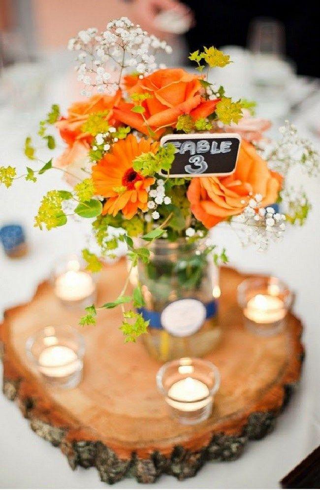 37 fotos de centros de mesa para boda insp rate - Fotos de mesas de centro ...
