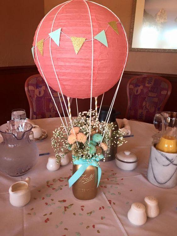 Centros de mesa con globos para boda centros de mesa - Centros de mesa con globos ...